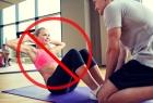 5 ćwiczeń, których nie powinna wykonywać kobieta po porodzie.